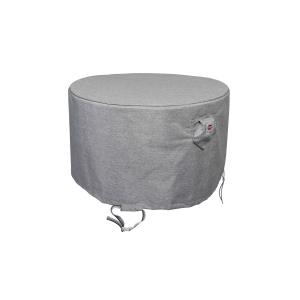 Platinum Shield Outdoor 52 Inch Round Fire Table Cover by Astella