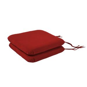 18 Inchx19 Inch Pacifica Premium Seat Pad Cushion(Set Of 2)