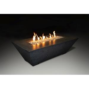 Olympus - 60x30x18 Inch Rectangular NG and LP Fire Pit Table
