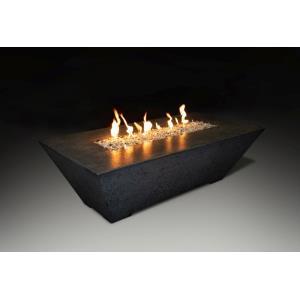 "Olympus - 60x30x24"" Rectangular LP Fire Pit Table"