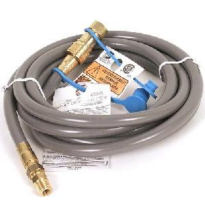 12' Natural Gas Rated Hose With Quick Connect