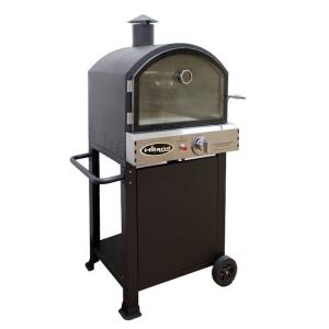 "56.3"" Propane Pizza Oven With Stone"