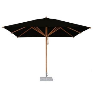 Levante - 8.5'  x 11.5' Wide, 2.25 Inch Diameter Rectangular Bamboo Market Umbrella