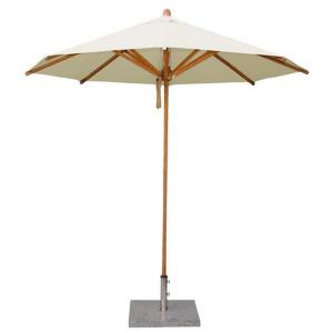Levante - 8.5' Wide , 1.5 Inch Diameter Round Bamboo Market Umbrella