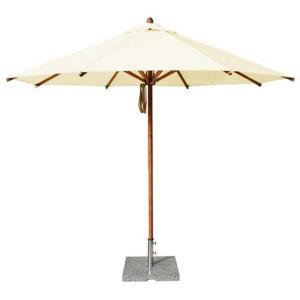 "Levante - 10' Wide, 1.5"" Diameter Round Bamboo Market Umbrella"