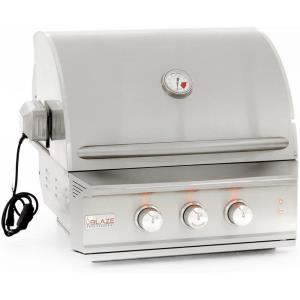 Blaze - 27 Inch Propane Gas 2 Burner Professional Built-In Grill