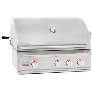 Professional - 34 Inch Built-In Grill With Rear Infrared Burner