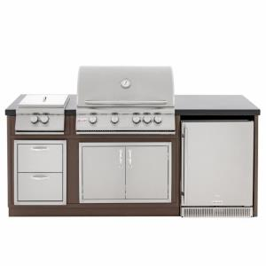 Island For Blaze 32 Inch 4 Burner Gas Grill
