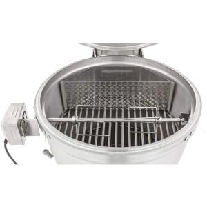 Blaze - 20 Inch Kamado Rotisserie with Charcoal Basket