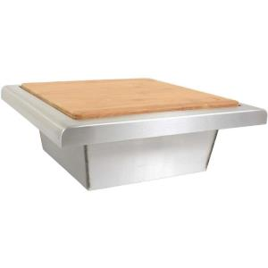 "Blaze - 14.63"" Trash Chute With Cutting Board"