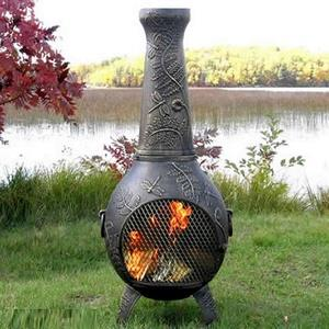 Dragonfly - 54 Inch Gas Chiminea