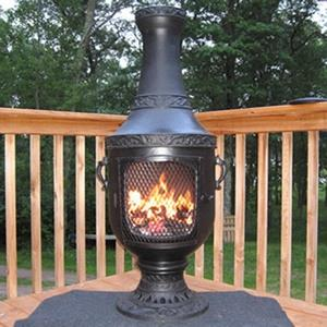 Venetian - 52 Inch Gas Chiminea