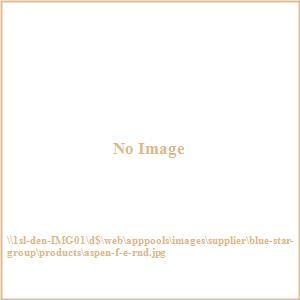 "Terrace Mates - 18"" Aspen Folding Round End Table"