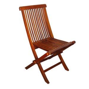 """Terrace Mates - 35"""" Folding Side Chair (Set of 2)"""