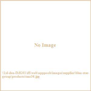 "Terrace Mates Caleo - 36"" Half-Round Table"