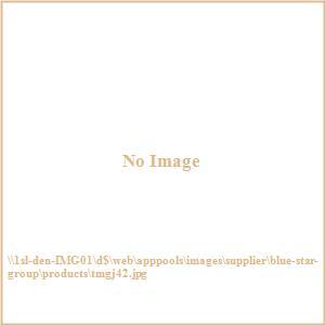 "Terrace Mates Genevieve - 42"" Half-Oval Table"