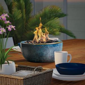 "Tablefire - 9"" Umbrella Hole Firebowl"