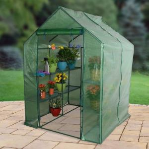 Walk-In - 76.77 Inch 3-Tier Large Greenhouse