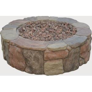 """Petra - 36"""" Round Gas Fire Pit"""