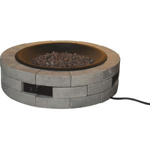 "Diy - 35"" Round Gas Fire Table"