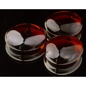 Round - 1.7 Inch Lava Glass (Pack of 4)
