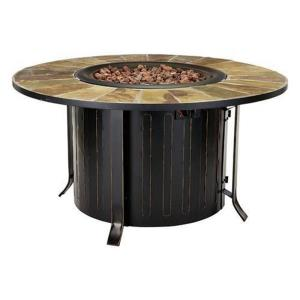 """Montini - 46"""" Round Gas Fire Table"""