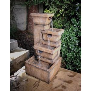 Ashboro - 16 Inch Fountain with Light