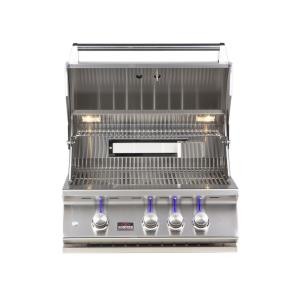 28 Inch 3-Burner Built-In Gas Grill