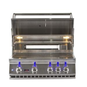34 Inch 4-Burner Built-In Gas Grill