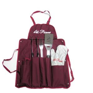 Utensil set with Apron and Glove