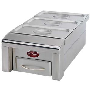 "12"" Drop in food warmer"
