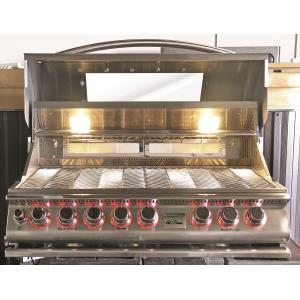 Convection -Top Gun BBQ Bulit in Grill 5 Burner Convection-LP