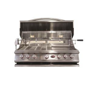 P Series - BBQ Built in Grills P 5 Burner w/ Rotisserie  and  back Burner-LP