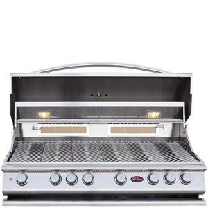 P Series - BBQ Built in Grills P 6 Burner w/ Rotisserie  and  back Burner-LP