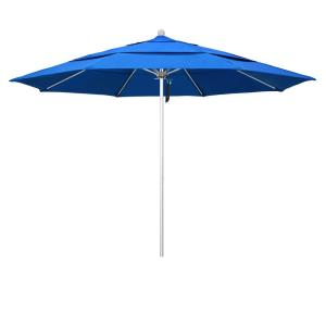 11' Fiberglass Market Umbrella with Double Wind Vent