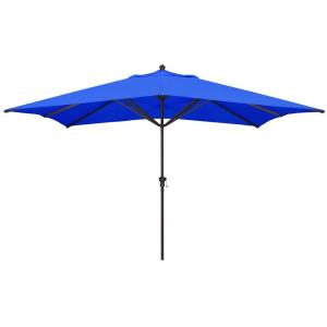 11'X8' Rectangular Aluminum Market Umbrella