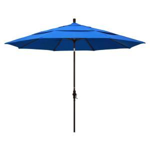 11' Aluminum Market Umbrella with Double Wind Vent