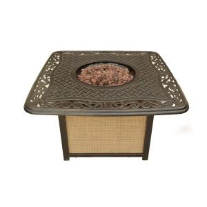 Artisan - 41 Inch Cast Top Gas Fire Pit