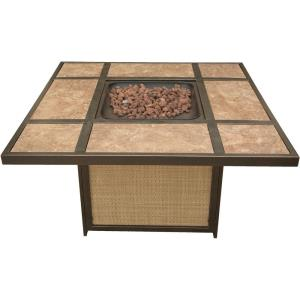 Artisan - 45 Inch Tile Top Gas Fire Pit