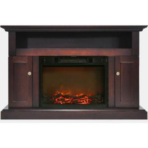Sorrento 47 In. Electric Fireplace and Entertainment Stand