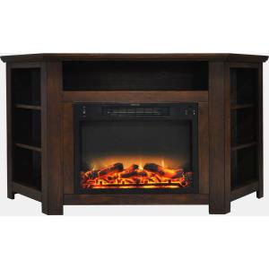 Stratford 56 In. Electric Corner Fireplace