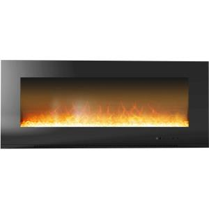 Metropolitan 56 In. Wall-Mount Electric Fireplace