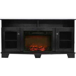 Savona 59 In. Electric Fireplace with Entertainment Stand