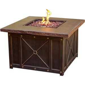 Classic - 40 Inch Durastone Top Gas Fire Pit