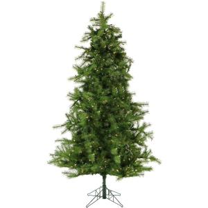 Colorado Pine - 6.5' Artificial Christmas Tree with 500 Clear Smart String Lighting