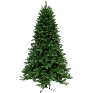 Greenland Pine - 6.5' Artificial Christmas Tree with 550 Clear LED String Lighting