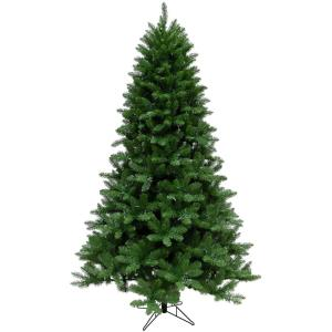 Greenland Pine - 7.5' Artificial Christmas Tree with 800 Clear LED String Lighting
