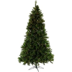 Pennsylvania Pine - 6.5' Artificial Christmas Tree with 400 Clear LED String Lighting