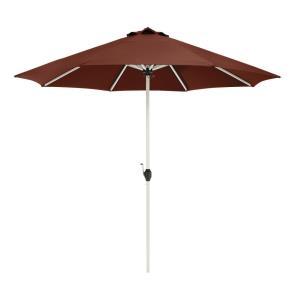 Montlake - 9' Fadesafe Round Aluminum Patio Umbrella