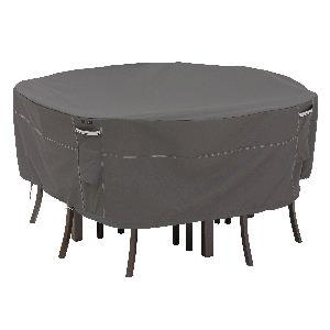 """Ravenna - 94"""" Medium Round Patio Table and Chair Set Cover"""